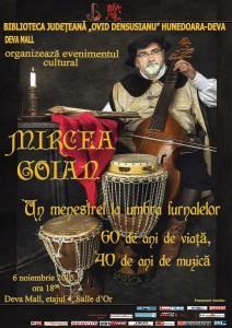 Afiș Mircea Goian
