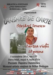 Afiș Stejărel Ionescu